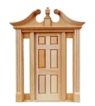 Deerfield  Door with Sidelights 1 inch Scale 6028