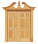 Deerfield Double  Door  1 inch Scale 6034