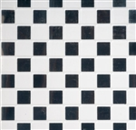 Black & white vinyl flooring sheets