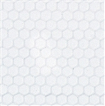 Small white hex pattern vinyl flooring sheets