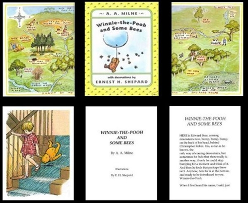 photograph relating to Miniature Books Printable identify Winnie-the-Pooh Miniature Guides