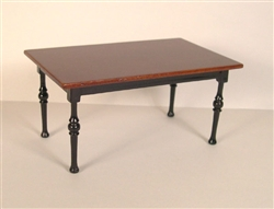 B130 Bren two tone Rectangle Dining Table