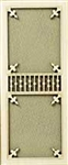 Victorian Screen Door 1 inch Scale 070