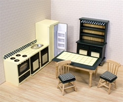 7 piece Kitchen Furniture Set 2582