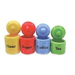 4 Piece Cannister Set
