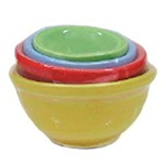 4 Piece Nesting mixing bowls