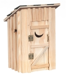 Wooden Outhouse 2502