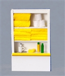 Bathroom Closet Yellow Towels  1252y