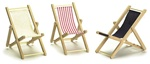 Miniature Deck Chairs