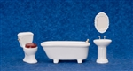 Porcelain Bath Room 4 piece set 6295