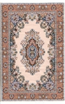 355 -TanTurkish Woven Rug for Miniatures