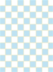 Blue & White 1/8-inch square vinyl flooring sm sheets