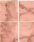 "Pink No Wax Marble 1"" square vinyl flooring sheets"