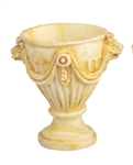Ivory Terra Cotta Fancy Urns 5650