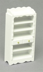 5275 White Shelf Unit