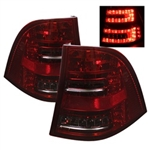 Spyder Auto Mercedes-Benz ML320 1998-2005 LED Tail Lights 5006110