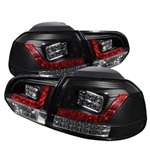 Spyder Auto Volkswagen Golf 2010-2013 LED Tail Lights 5008176