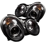 Spyder Auto Mercedes-Benz CLK320 1998-2002 LED Halo Projector Headlights (Halogen Model Only) 5011176