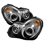 Spyder Auto Mercedes-Benz C240 2001-2005 LED Halo Projector Headlights (Halogen Model Only) 5011251