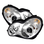 Spyder Auto Mercedes-Benz C240 2001-2005 LED Halo Projector Headlights (Halogen Model Only) 5011268
