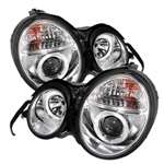 Spyder Auto Mercedes-Benz E300 1995-1999 LED Halo Projector Headlights 5011282