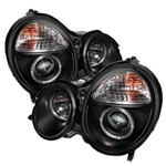 Spyder Auto Mercedes-Benz E320 2000-2002 LED Halo Projector Headlights 5011299