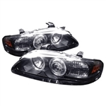 Spyder Auto Nissan Sentra 2000-2003 LED Halo Projector Headlights 5011558