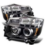 Spyder Auto Nissan Pathfinder 2004 LED Halo Projector Headlights 5011572