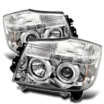 Spyder Auto Nissan Pathfinder 2004 LED Halo Projector Headlights 5011589