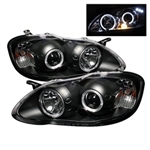 Spyder Auto Toyota Corolla 2003-2008 LED Halo Projector Headlights 5011787