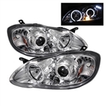 Spyder Auto Toyota Corolla 2003-2008 LED Halo Projector Headlights 5011794
