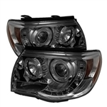 Spyder Auto Toyota Tacoma 2005-2011 LED Halo Projector Headlights 5011930