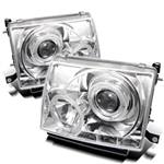 Spyder Auto Toyota Tacoma 1997-2000 LED Halo Projector Headlights 5011954