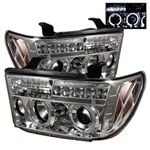 Spyder Auto Toyota Tundra 2007-2013 LED Halo Projector Headlights 5012036