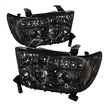 Spyder Auto Toyota Tundra 2007-2013 LED Halo Projector Headlights 5012043