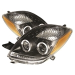 Spyder Auto Toyota Yaris 2007-2008 LED Halo Projector Headlights 5012050