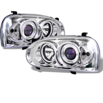 Spyder Auto Volkswagen Golf 1993-1998 LED Halo Projector Headlights 5012142