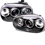 Spyder Auto Volkswagen Golf 1999-2005 LED Halo Projector Headlights 5012159