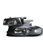 Spyder Auto Nissan Altima 1993-1997 Crystal Headlights 5012630