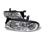 Spyder Auto Nissan Altima 1993-1997 Crystal Headlights 5012647