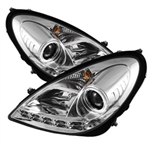 Spyder Auto Mercedes-Benz SLK350 2005-2010 DRL Projector Headlights (Xenon/HID Model Only) 5014993