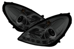 Spyder Auto Mercedes-Benz SLK350 2005-2010 DRL Projector Headlights (Xenon/HID Model Only) 5015013