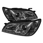 Spyder Auto Lexus IS300 2001-2005 LED Halo DRL Headlights (Xenon/HID Model Only) 5029911