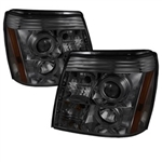 Spyder Auto Cadillac Escalade 2002-2006 LED Halo DRL Headlights (Xenon/HID Model Only) 5042293