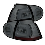 Spyder Auto Volkswagen Golf 2006-2009 LED Tail Lights w/ LED Turn Signal 5073785
