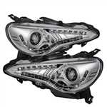 Spyder Auto Subaru BRZ 2012-2014 DRL LED Projector Headlights 5075468