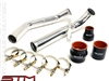 STM ALUMINUM UPPER INTERCOOLER PIPE KIT EVO X