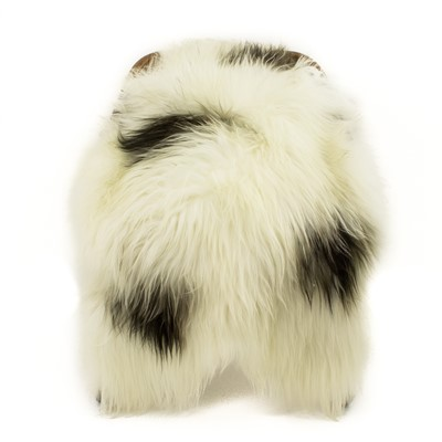 Sheepskin Rug Ivory White with 4 Spots