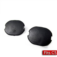 Pair of Floor Console Filler Plugs in Ebony/Black Factory Part no. 10247710 - SMC Performance and Auto Parts