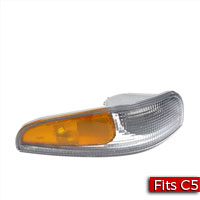 Passenger side park turn signal lamp, right marker lamp (Light) for a 1997-2004 Chevrolet C5 Corvette - SMC Performance and Auto Parts